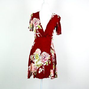 4 for $20 ASTR The Label Floral Wrap Dress *AS IS*
